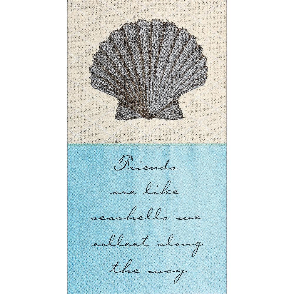 Eco-Friendly Shoreline Guest Towels 16ct Image #1