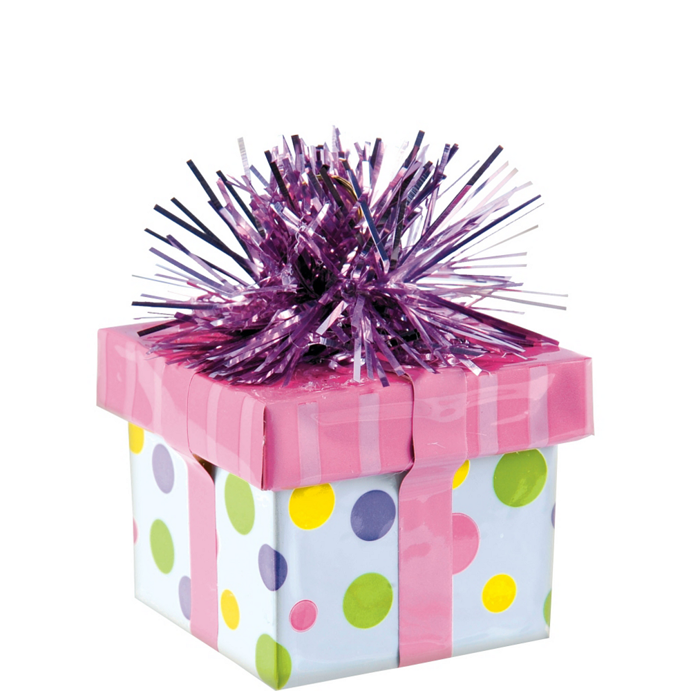 Pink Gift Pack Balloon Weight Image #1