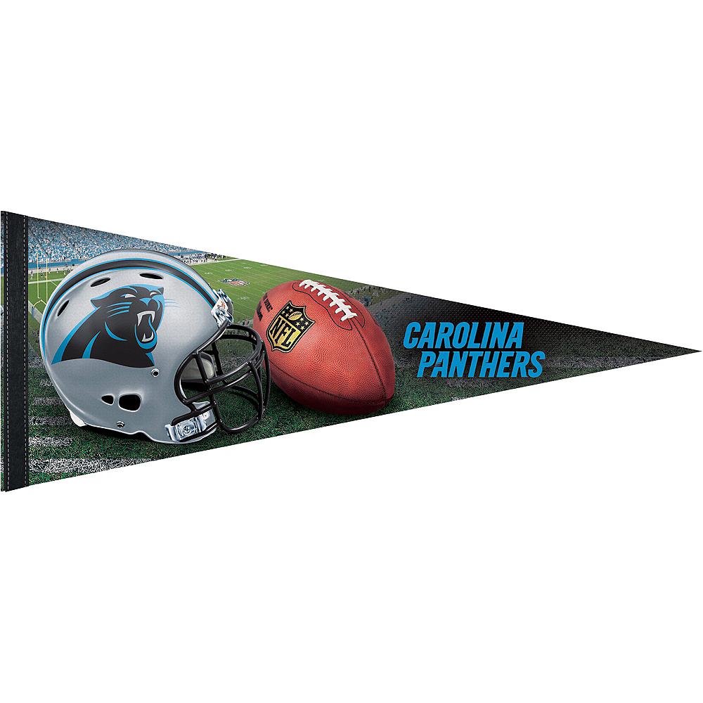 Premium Carolina Panthers Pennant Flag Image #1