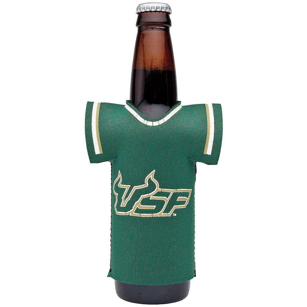 South Florida Bulls Jersey Bottle Coozie Image #1