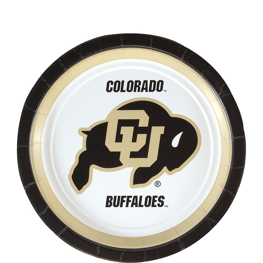 Colorado Buffaloes Dessert Plates 12ct Image #1