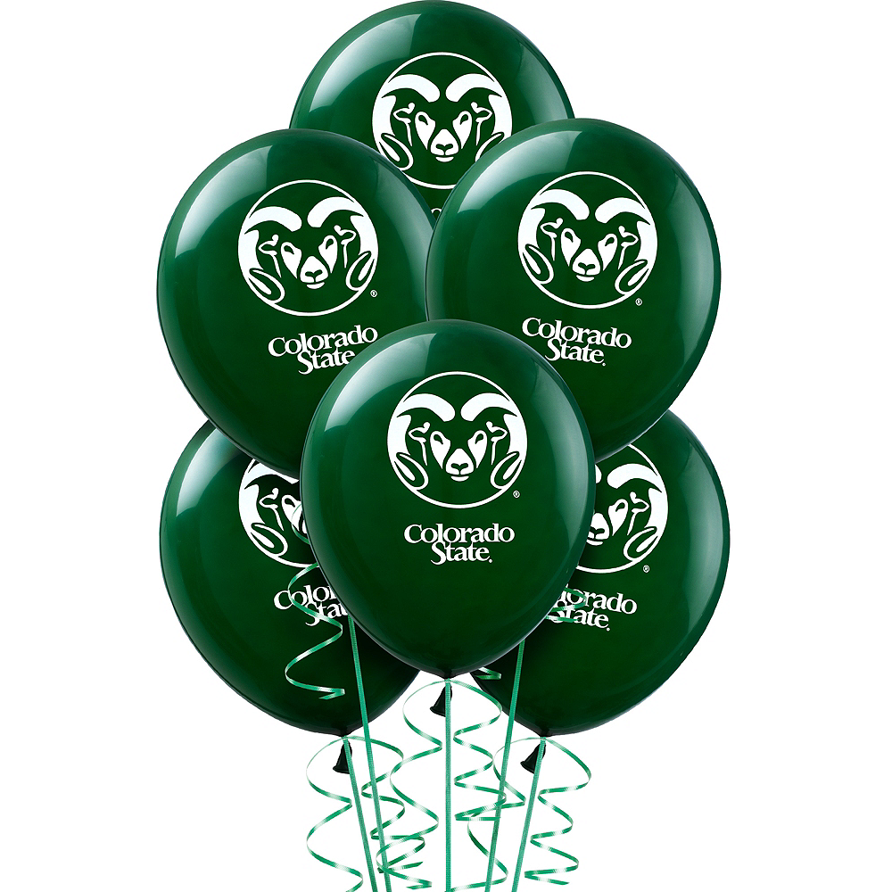 Colorado State Rams Balloons 10ct Image #1