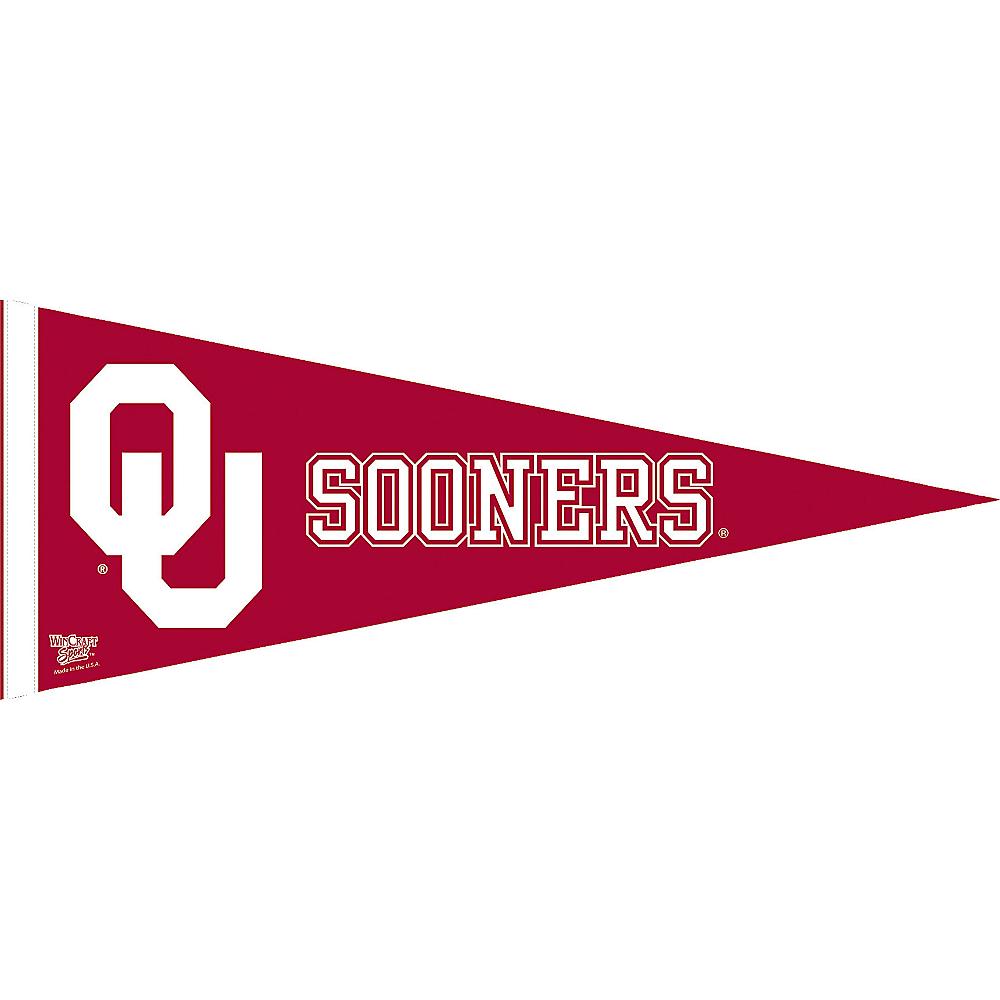 Oklahoma Sooners Pennant Flag Image #1