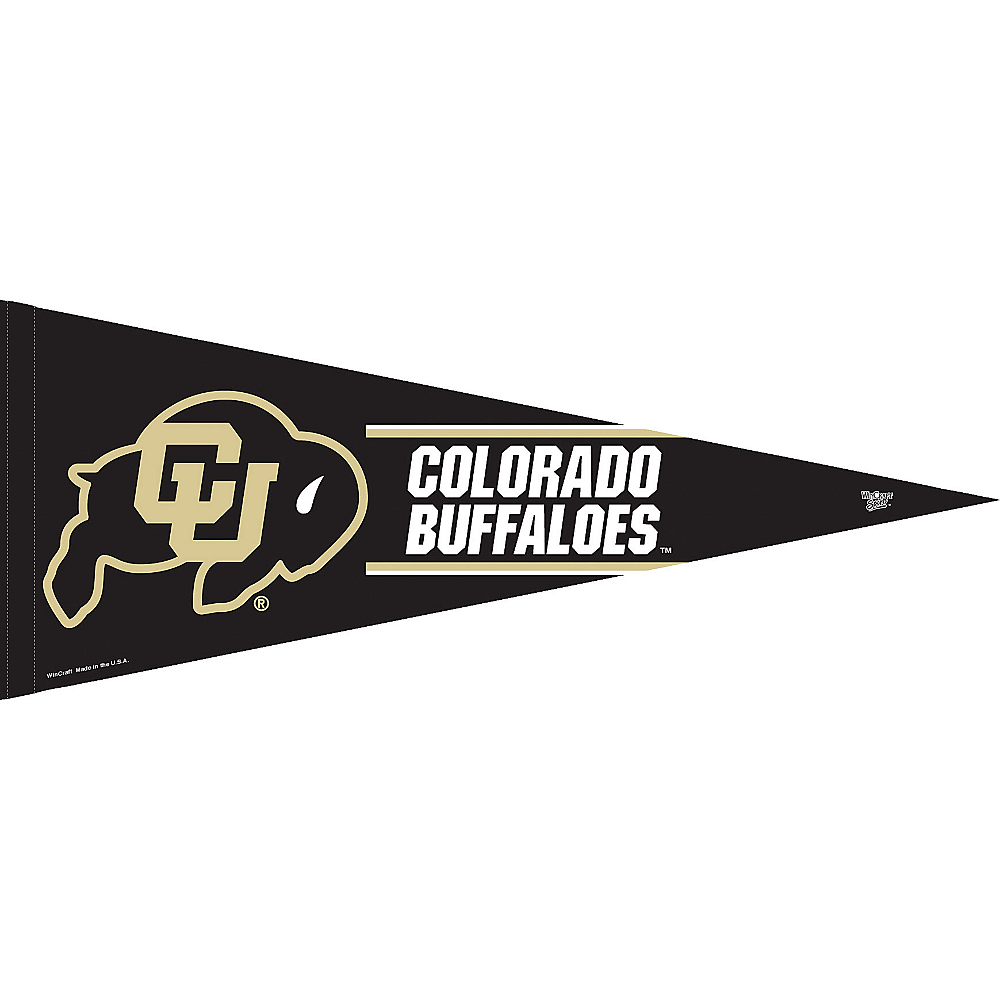 Colorado Buffaloes Pennant Flag Image #1
