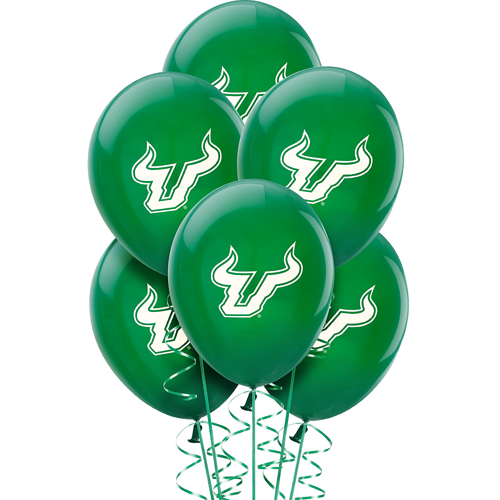 Nav Item for South Florida Bulls Balloons 10ct Image #1
