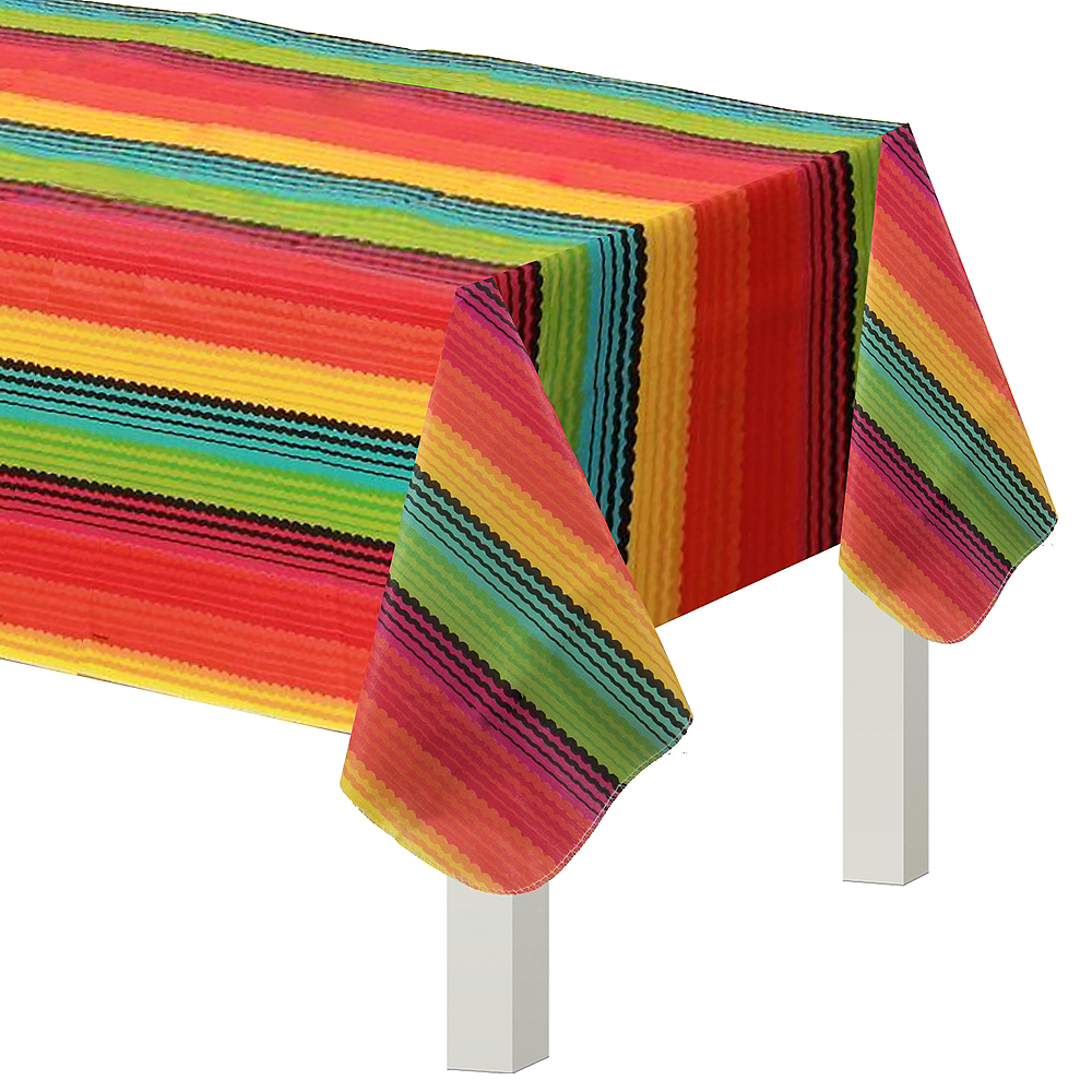 Fiesta Flannel-Backed Vinyl Table Cover Image #1