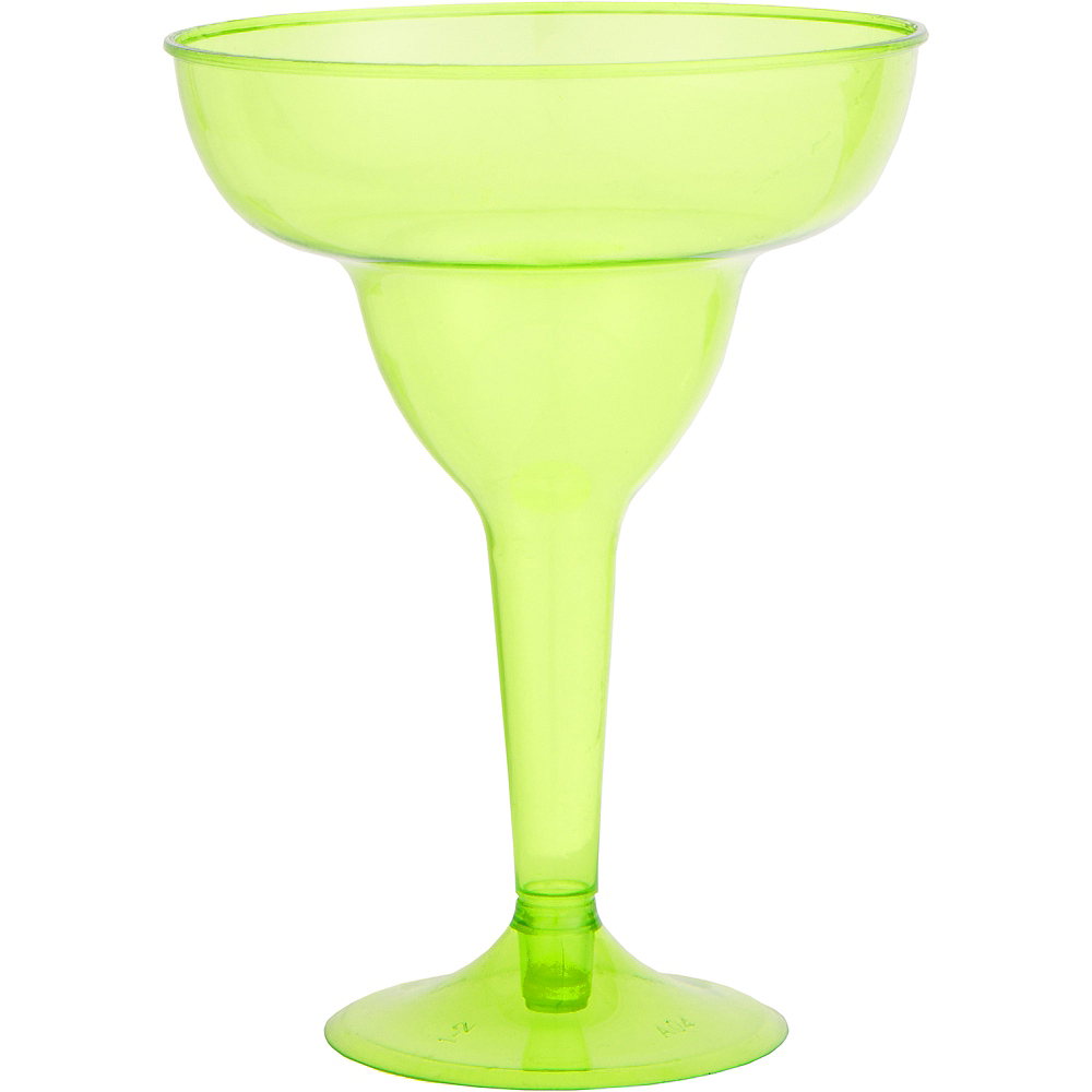 Nav Item for Fiesta Plastic Margarita Glasses 20ct Image #2