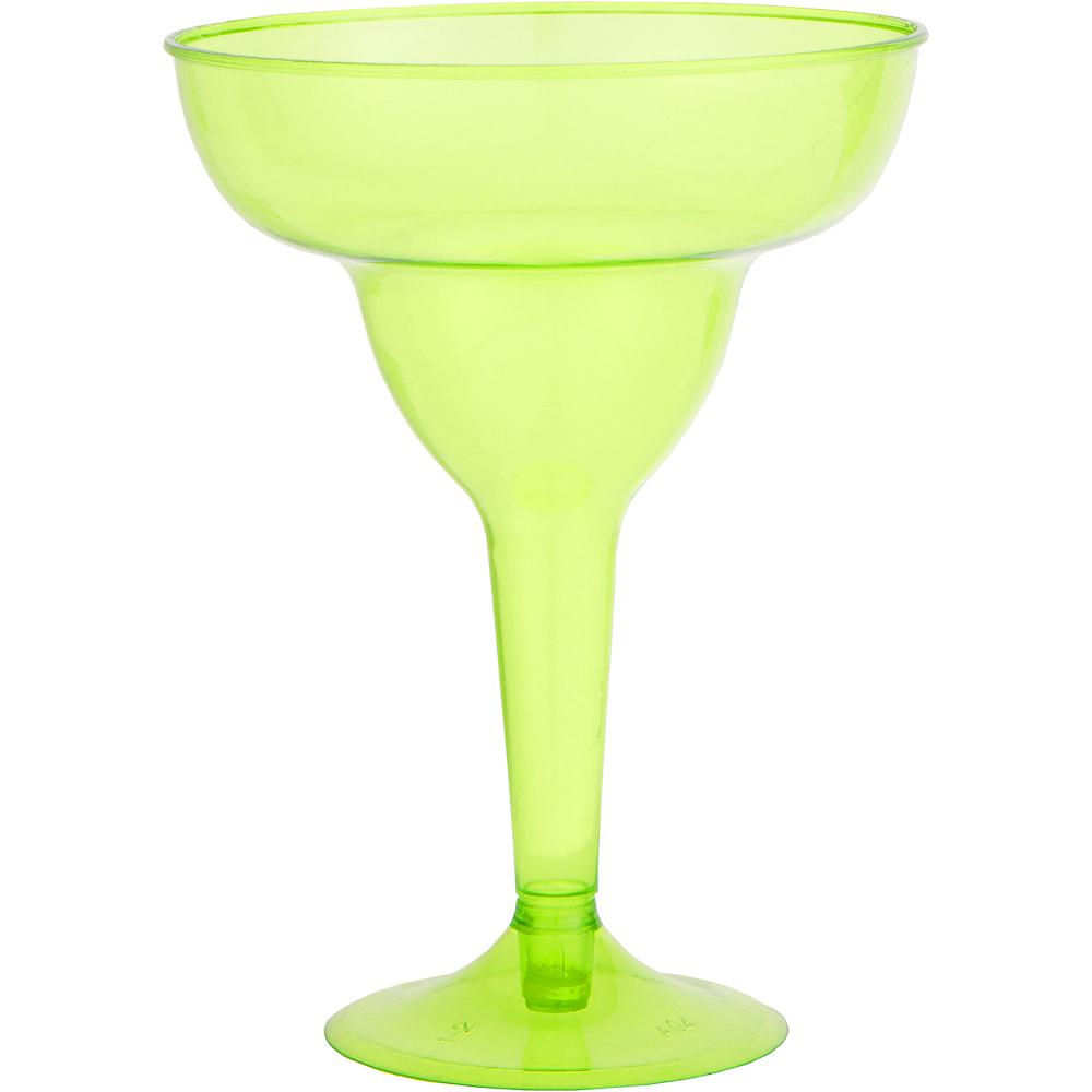 Fiesta Plastic Margarita Glasses 20ct