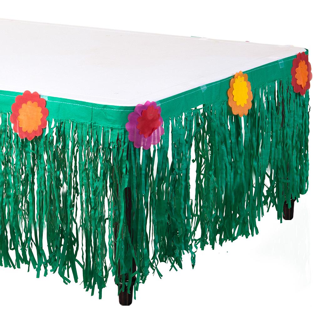 Fiesta Paper Table Skirt Image #1