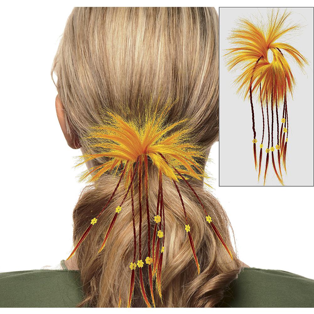 Fiesta Orange Diva Hair Twist with Braids Image #1