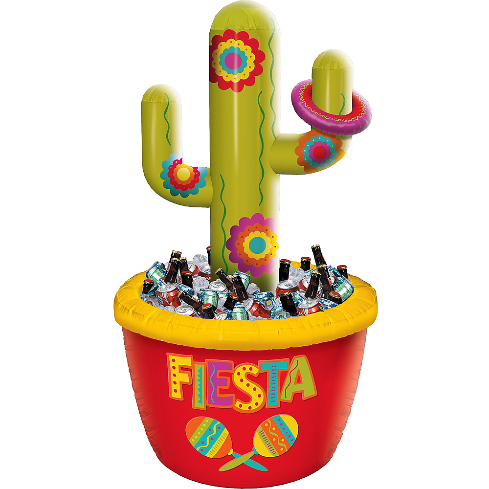 Inflatable Cactus Ring Toss Cooler Image #1