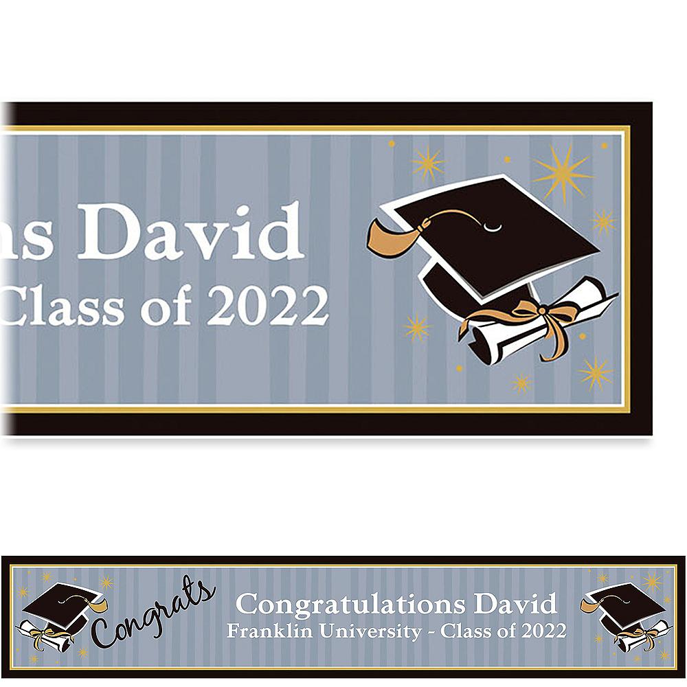 Custom Grad Honors Banner 6ft  Image #1
