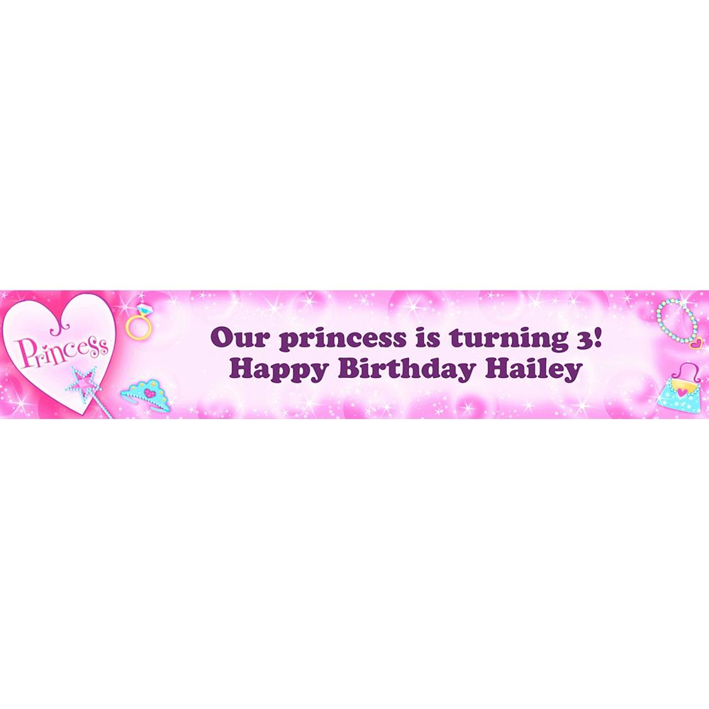 Custom Princess Banner 6ft Image #1