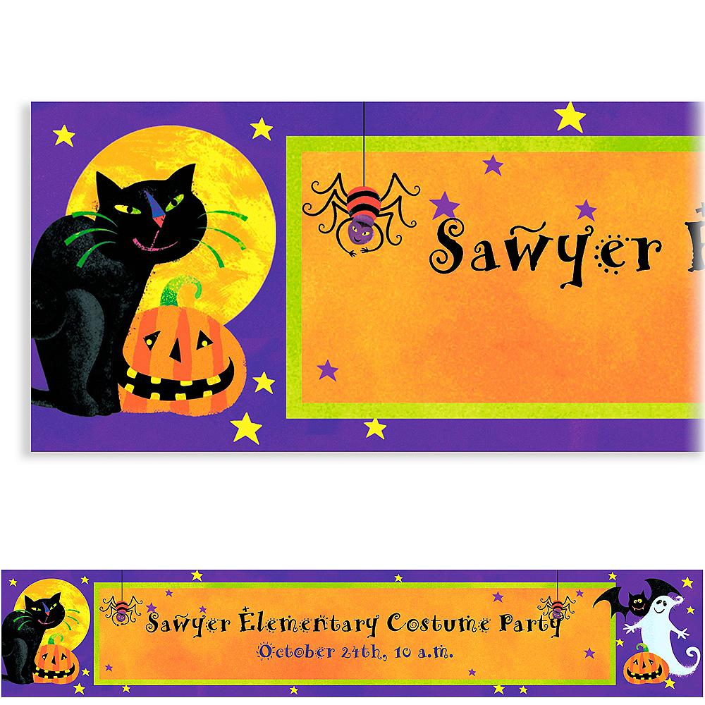 Custom Gruesome Group Halloween Banner 6ft Image #1
