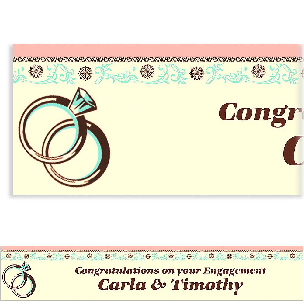 Custom Bridal Shower Day Banner 6ft Image #1