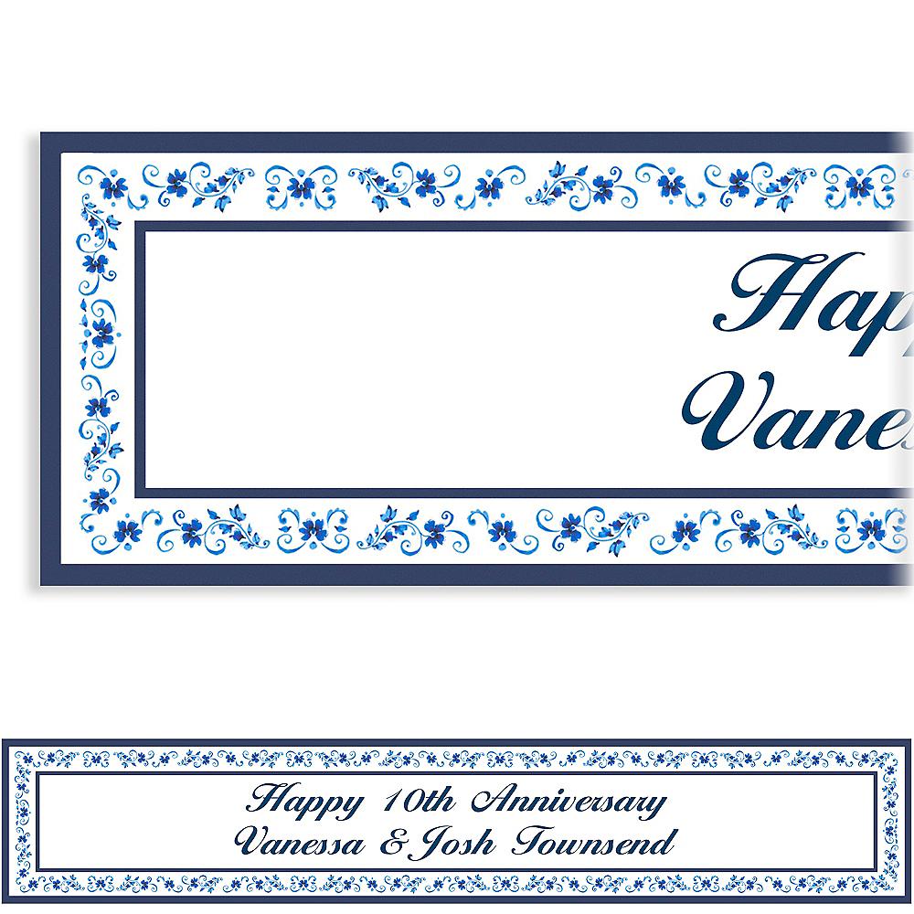 Custom Blue Provence Banner 6ft Image #1