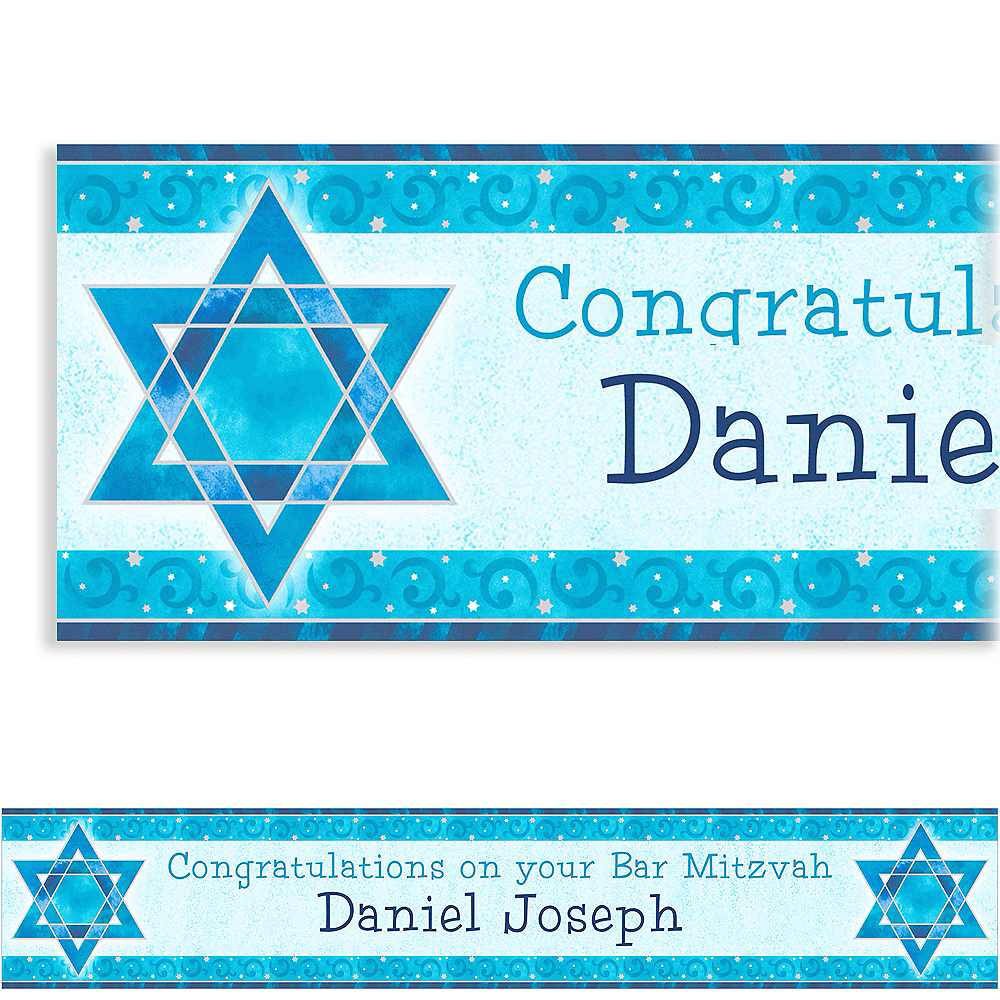 Custom Shimmering Star Banner 6ft Image #1