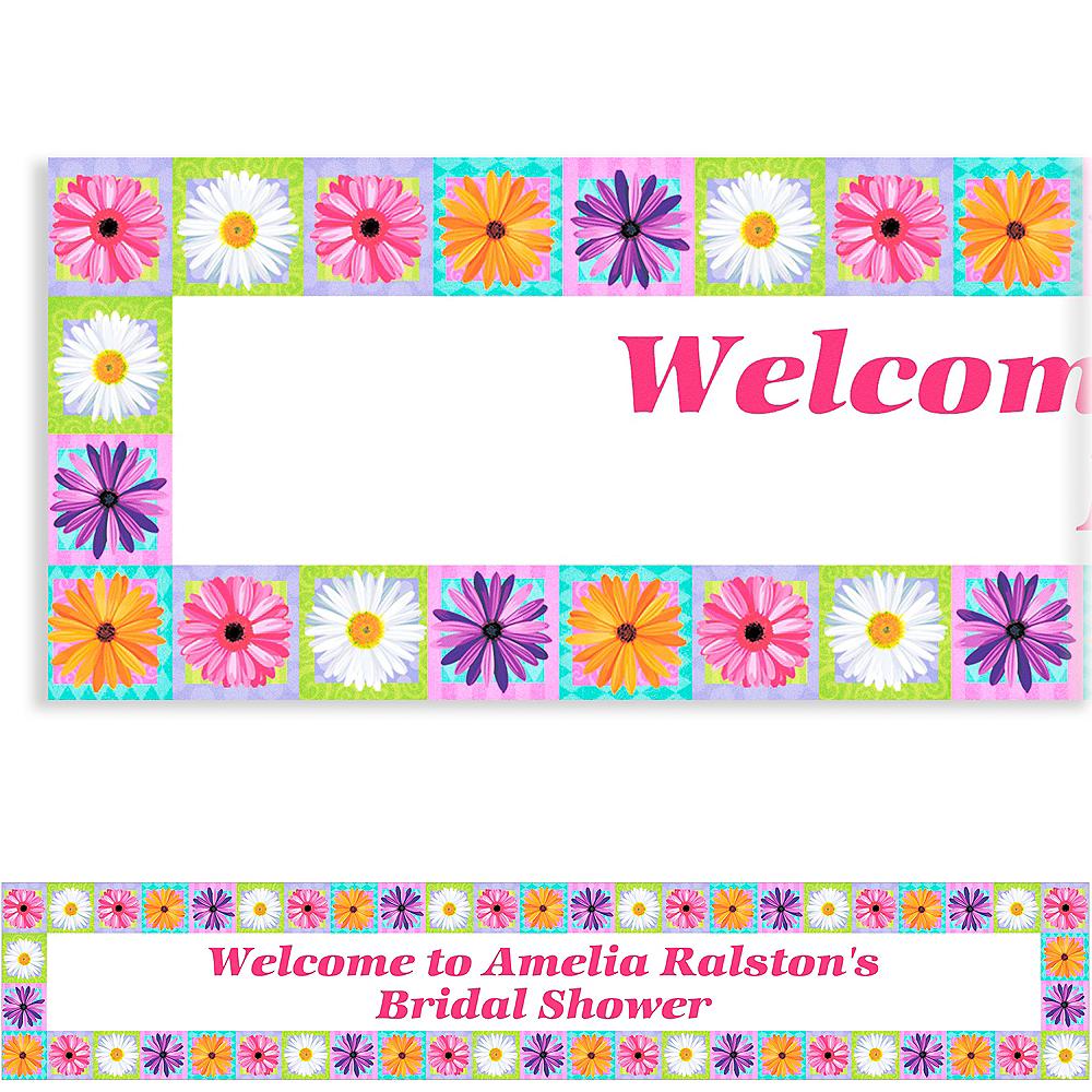 Custom In Bloom Banner 6ft Image #1