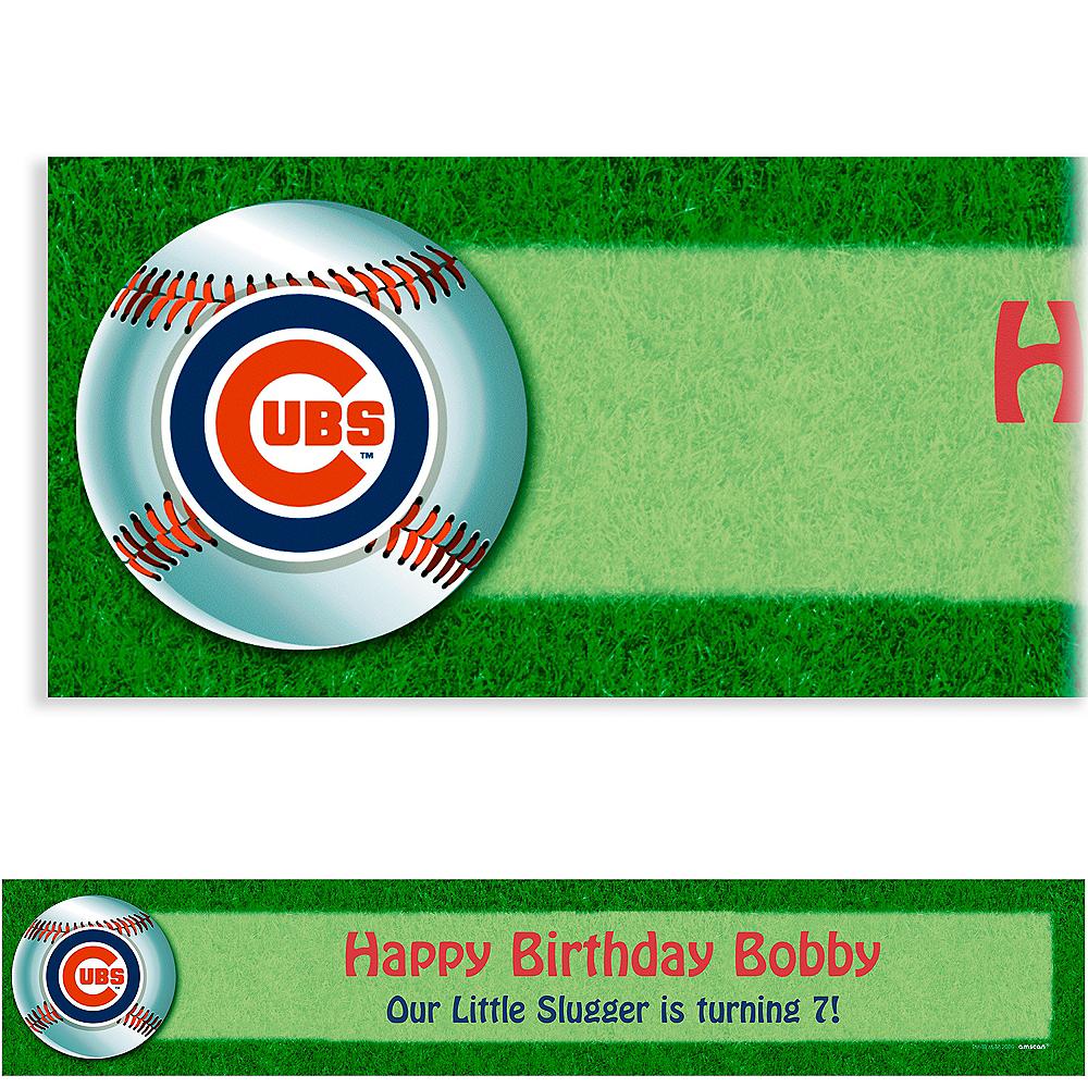 Custom Chicago Cubs Banner 6ft Image #1
