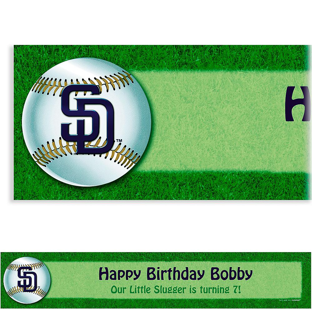 Custom San Diego Padres Banner 6ft Image #1