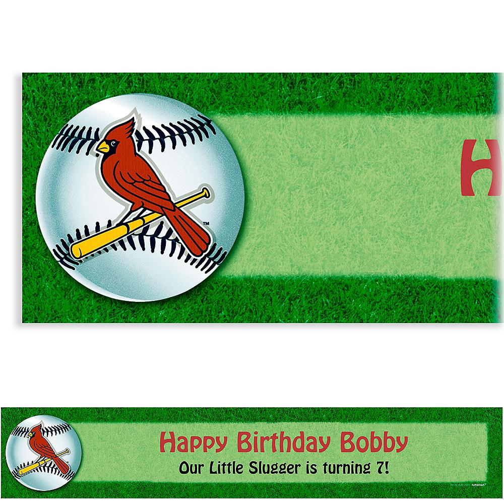 Custom St. Louis Cardinals Banner 6ft Image #1