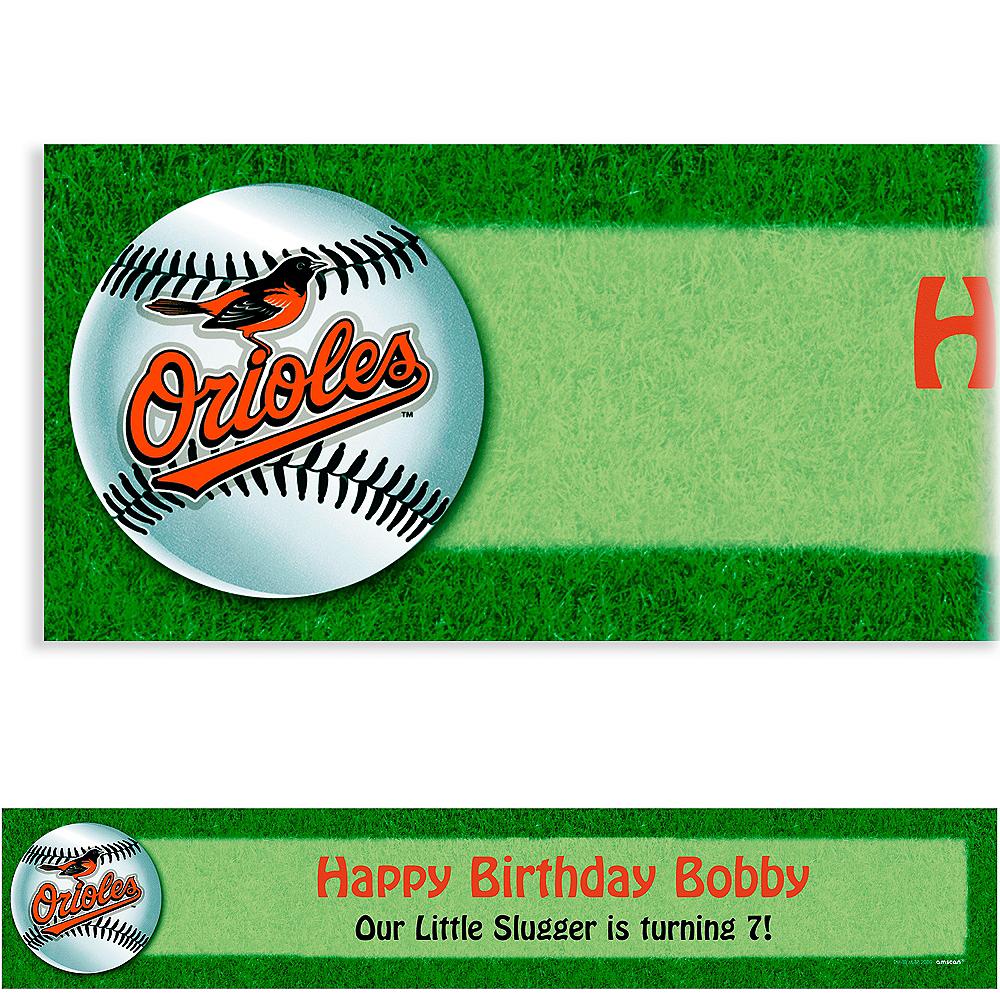 Custom Baltimore Orioles Banner 6ft Image #1