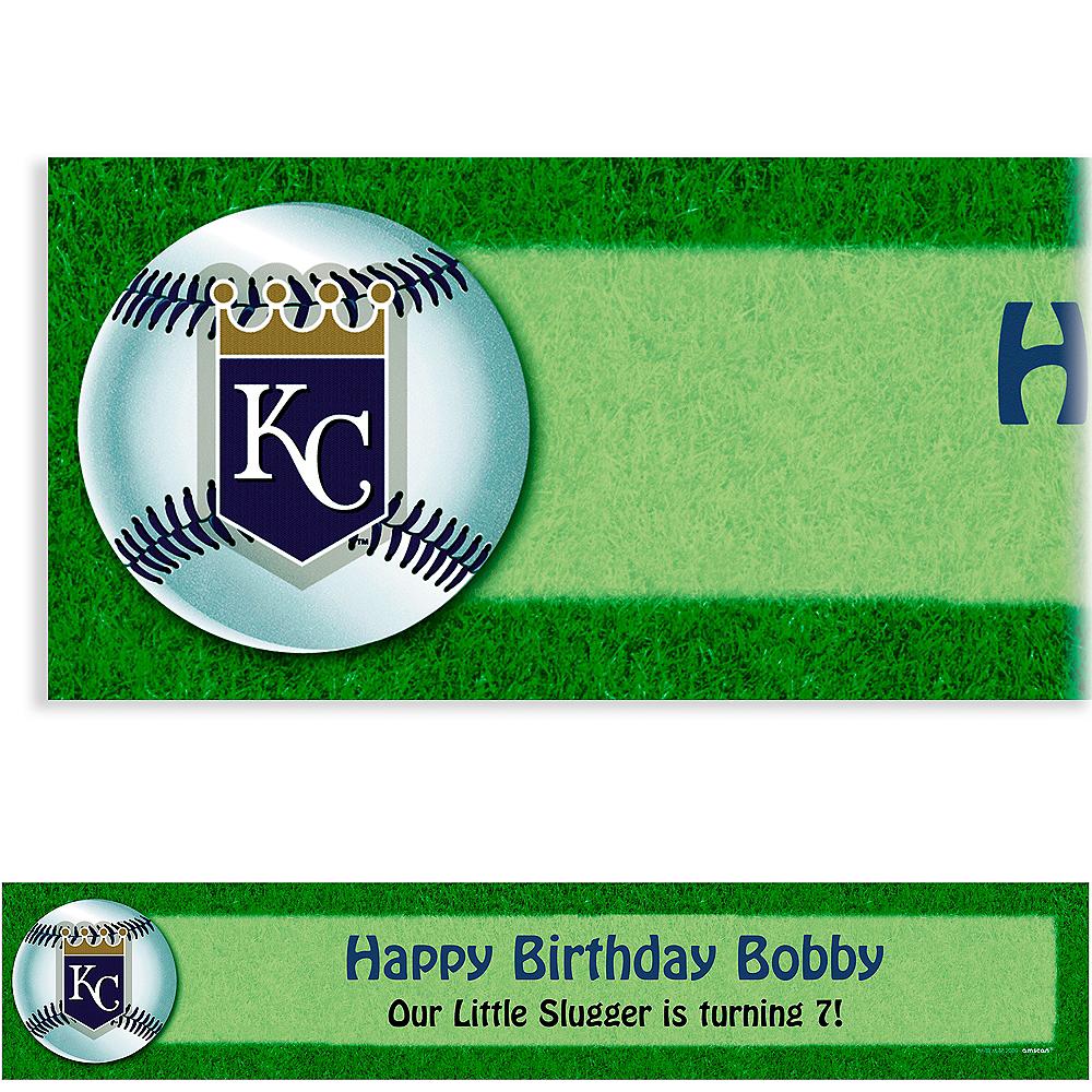Custom Kansas City Royals Banner 6ft Image #1