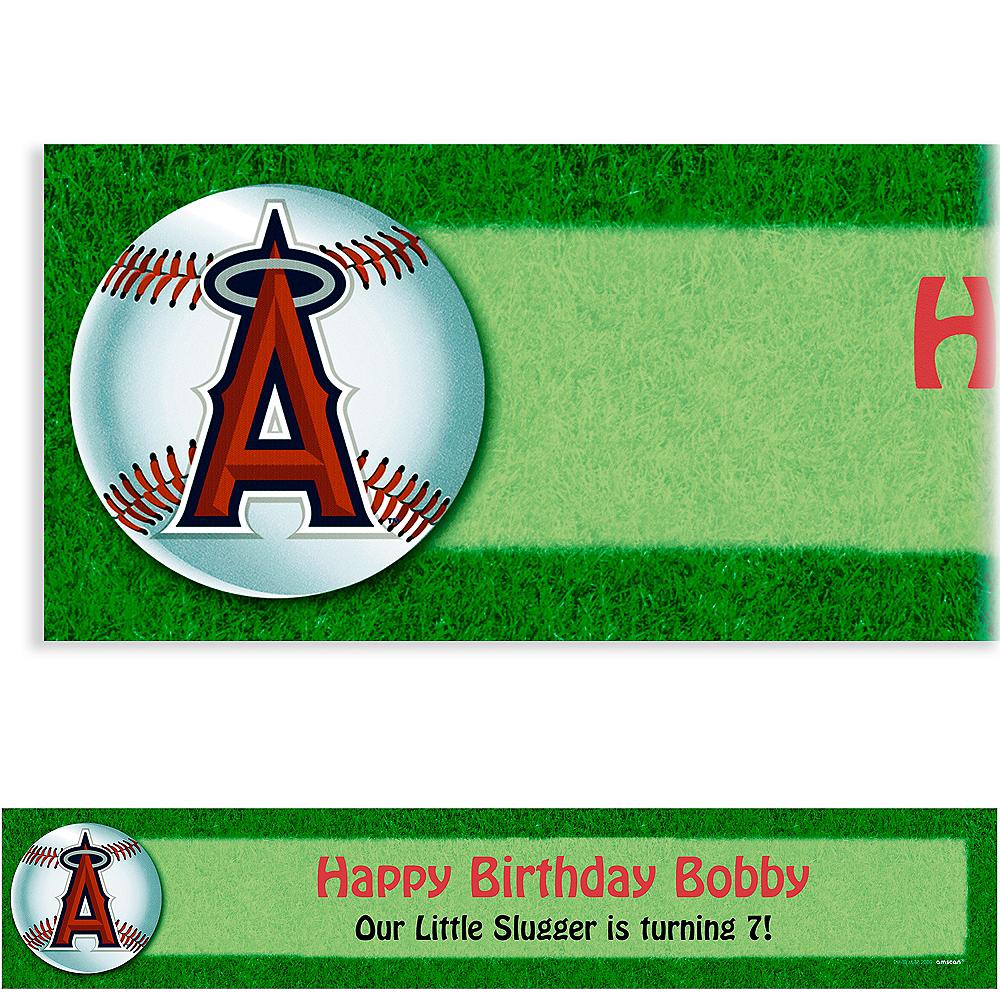 Custom Los Angeles Angels Banner 6ft Image #1