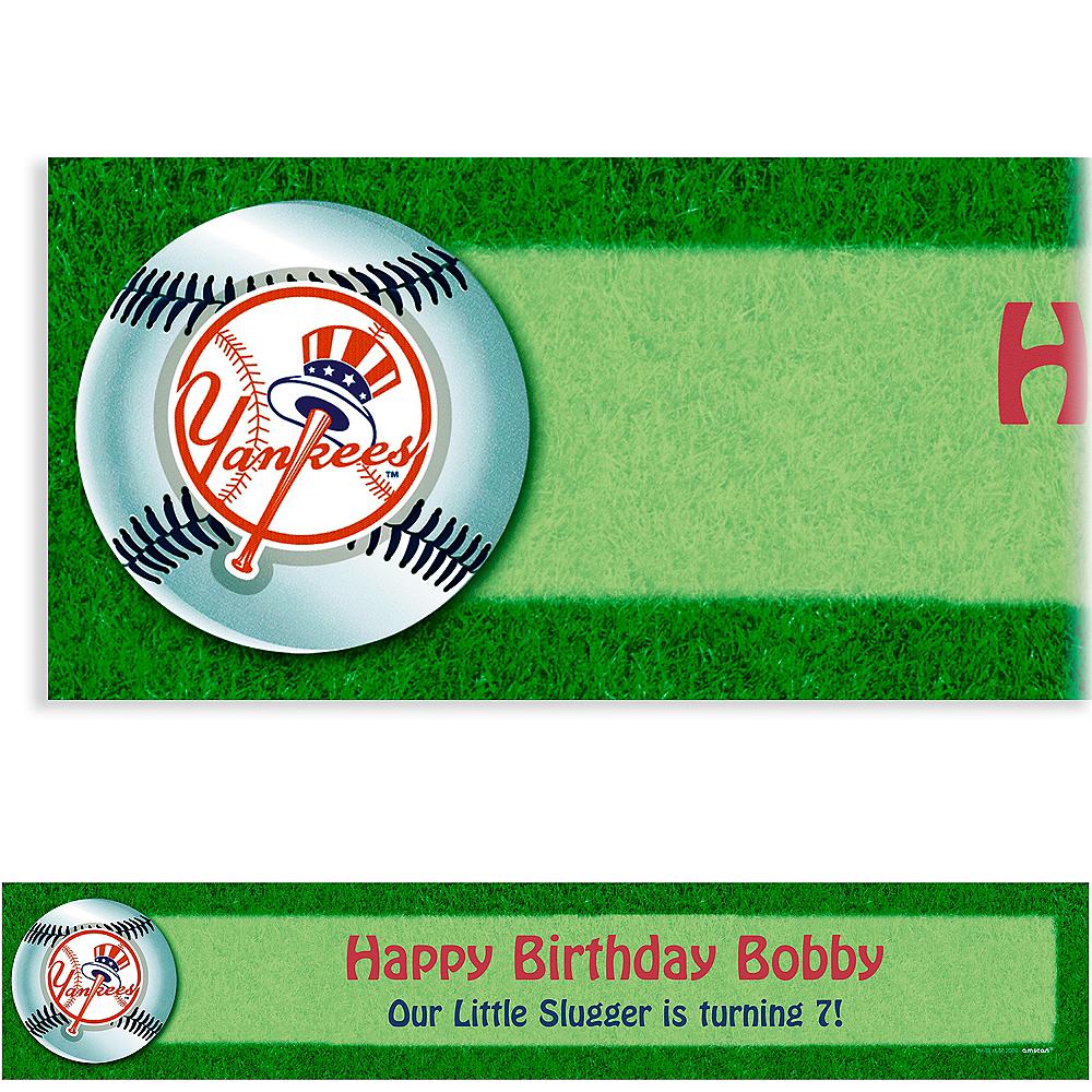 Custom New York Yankees Banner 6ft Image #1
