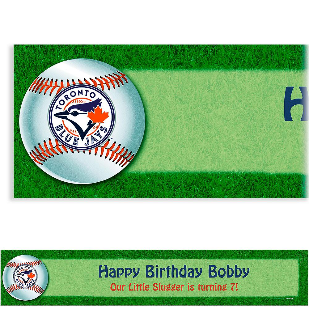 Custom Toronto Blue Jays Banner 6ft Image #1