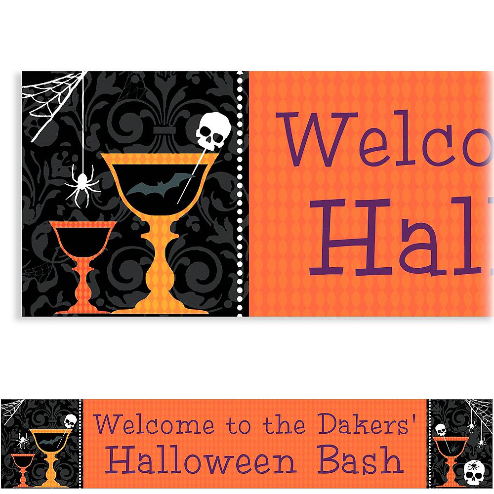 Custom Shocktails Halloween Banner 6ft Image #1