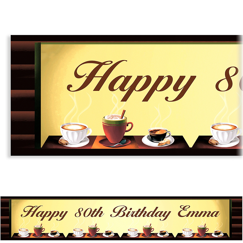 Custom Cafe Classics Banner 6ft Image #1