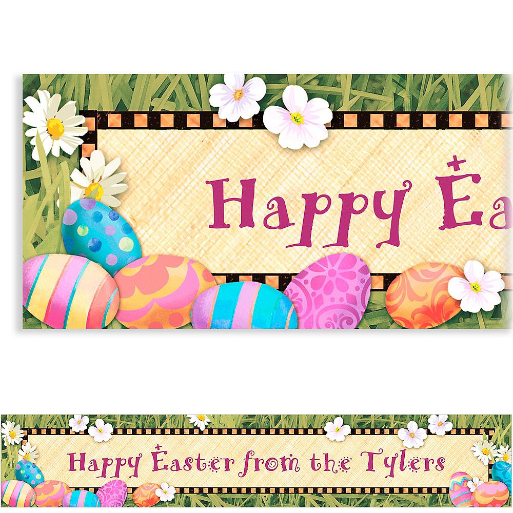 Custom Easter Elegance Easter Banner 6ft Image #1