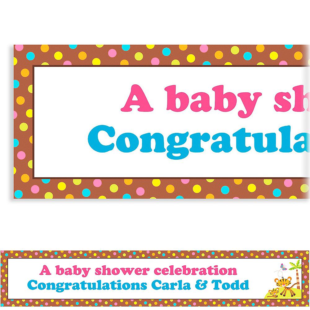 Custom Fisher Price Baby Shower Banner 6ft Image #1