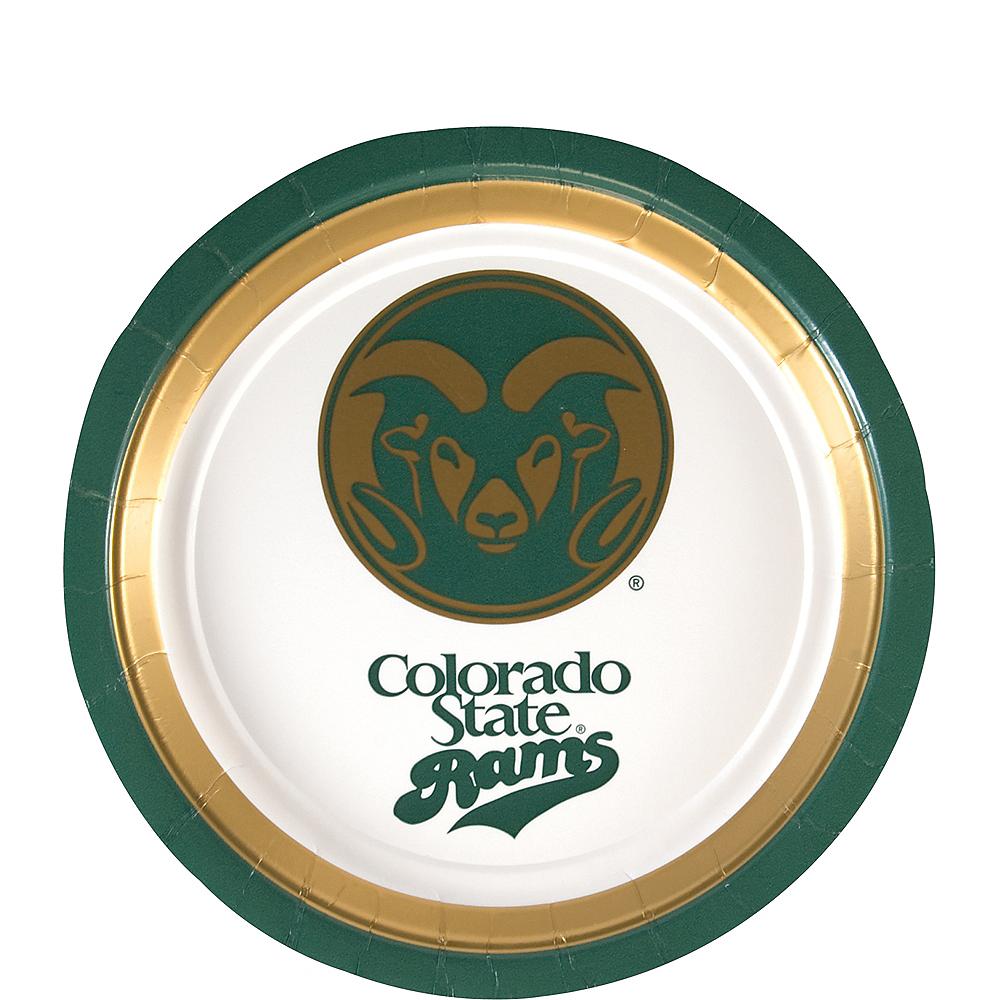 Colorado State Rams Dessert Plates 12ct Image #1