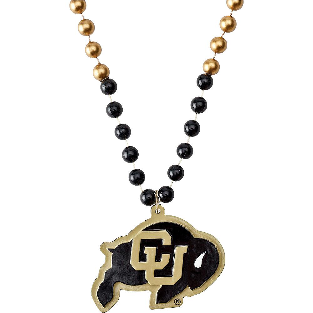 Colorado Buffaloes Pendant Bead Necklace Image #1