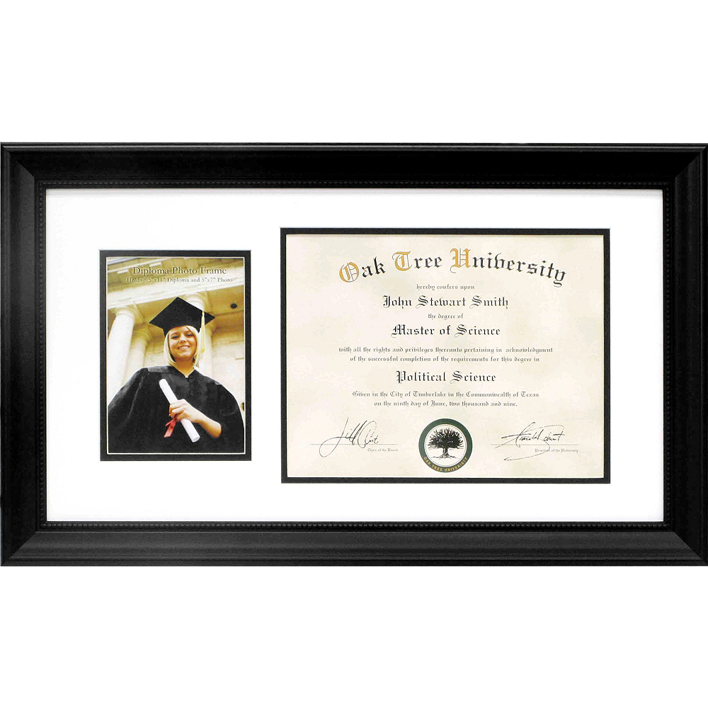 Graduation Diploma & Photo Frame 21in x 11 1/2in | Party City Canada