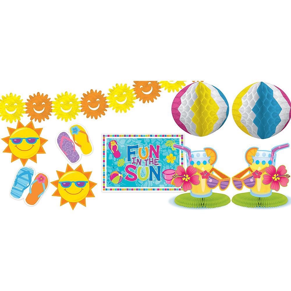 Fun in the Sun Decorating Kit 10pc Image #1