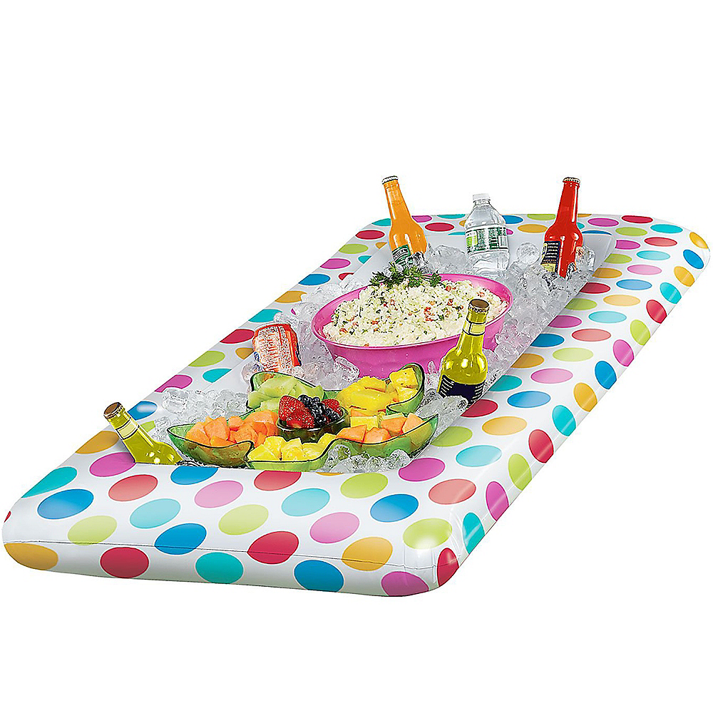 Polka Dot Inflatable Buffet Cooler Image #2
