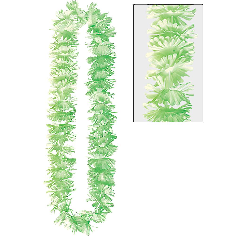 Green Summer Breeze Flower Lei Image #1