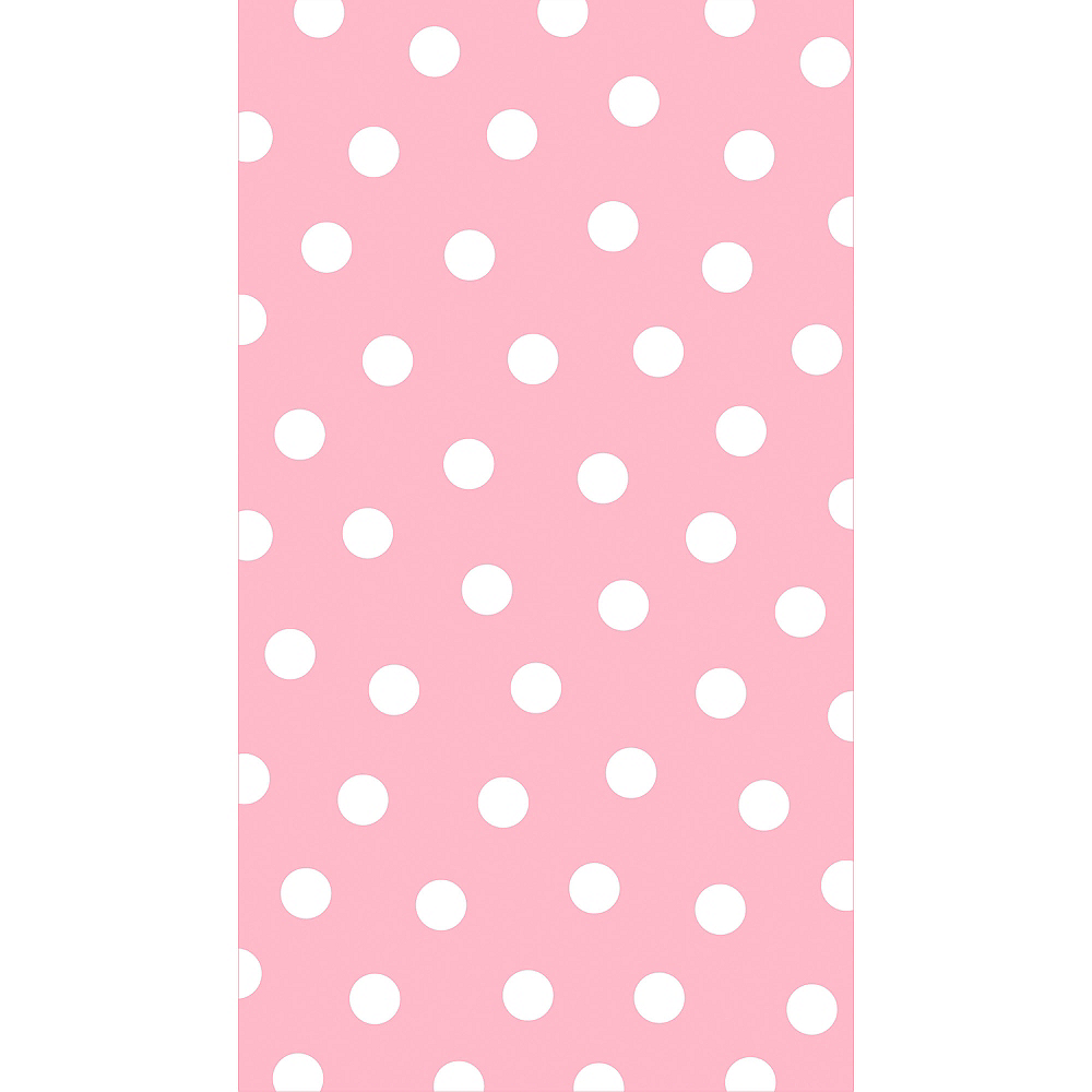 Nav Item for Pastel Pink Polka Dot Guest Towels 16ct Image #1
