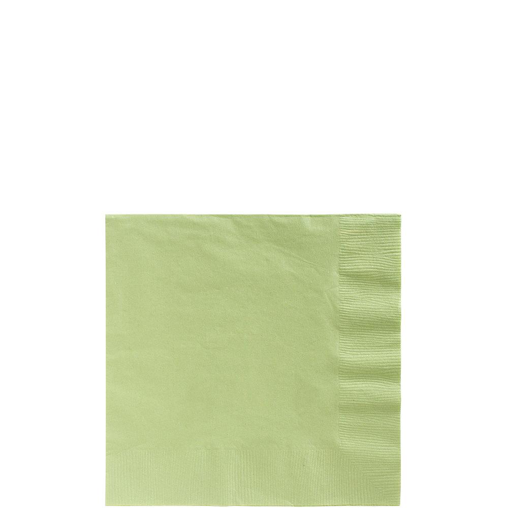 Big Party Pack Leaf Green Beverage Napkins 125ct Image #1