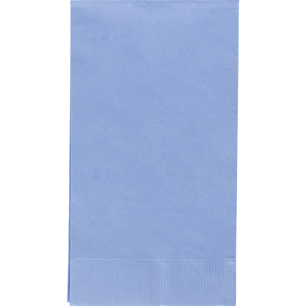 Nav Item for Big Party Pack Pastel Blue Guest Towels 40ct Image #1