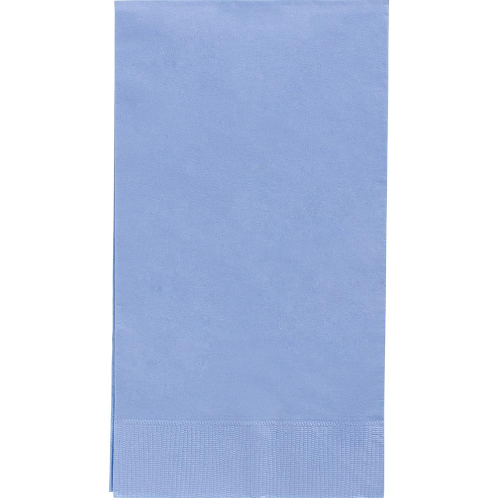 Big Party Pack Pastel Blue Guest Towels 40ct Image #1