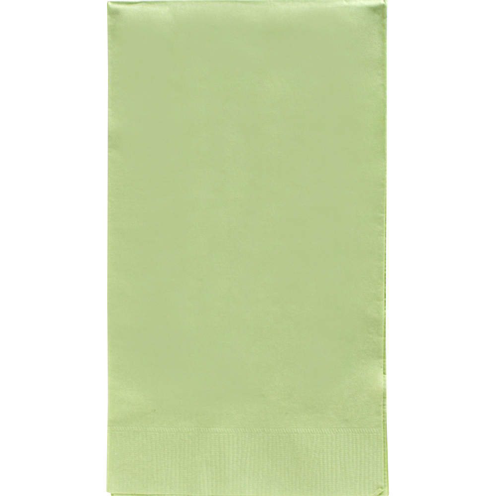 Nav Item for Big Party Pack Leaf Green Guest Towels 40ct Image #1