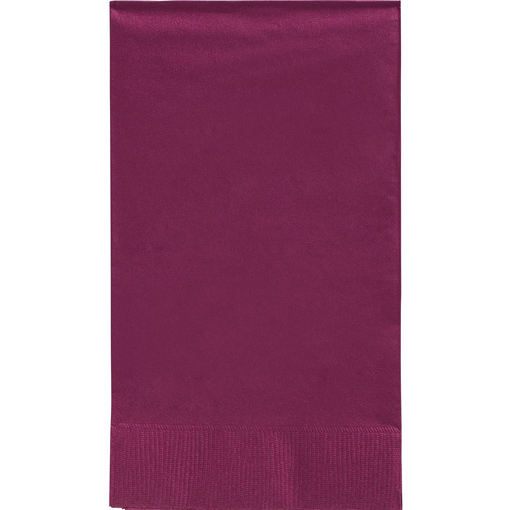Big Party Pack Berry Guest Towels 40ct Image #1