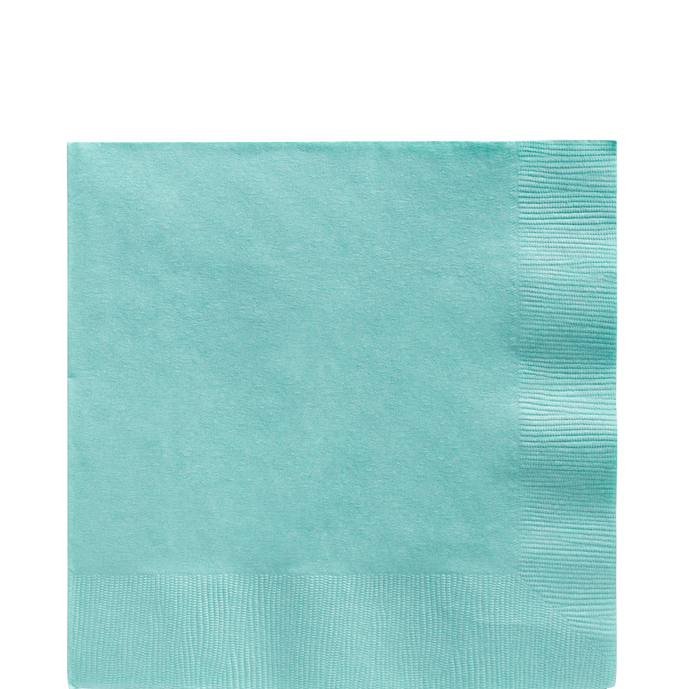 Big Party Pack Robin's Egg Blue Lunch Napkins 125ct Image #1