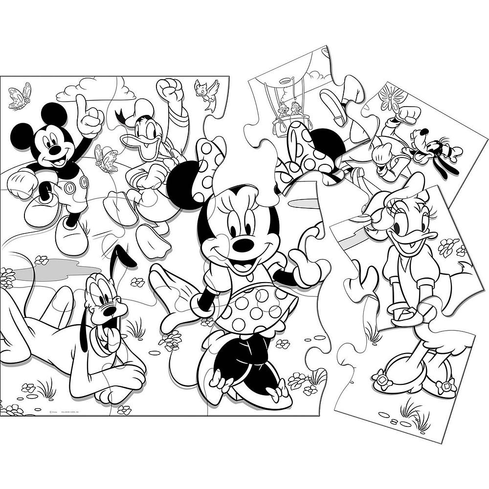 Minnie Mouse Activity Puzzle Image #1