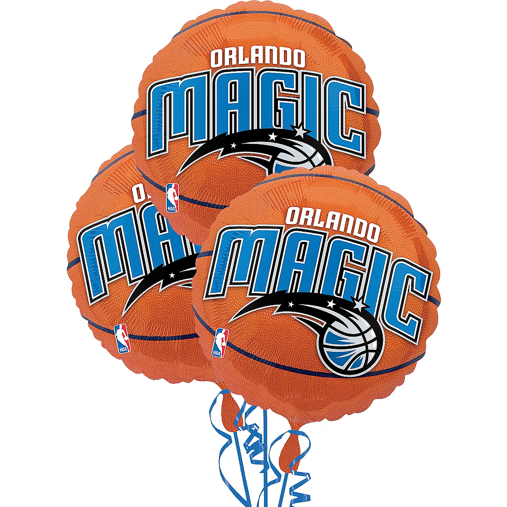 Orlando Magic Balloons 3ct - Basketball Image #1