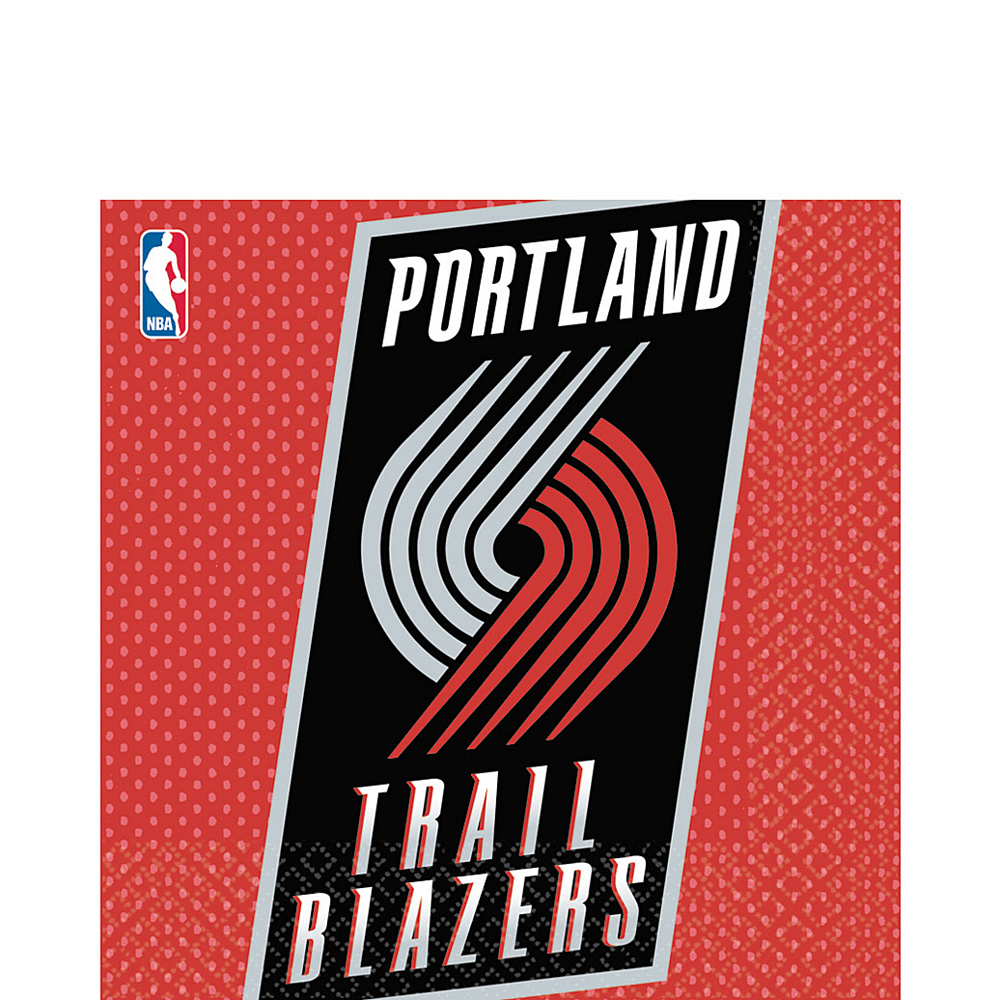 Portland Trail Blazers Lunch Napkins 16ct Image #1